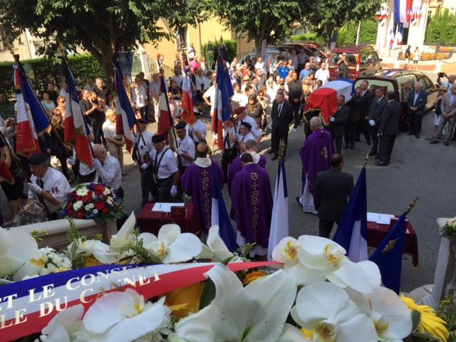 Les obsèques de Charles Pasqua à Grasse