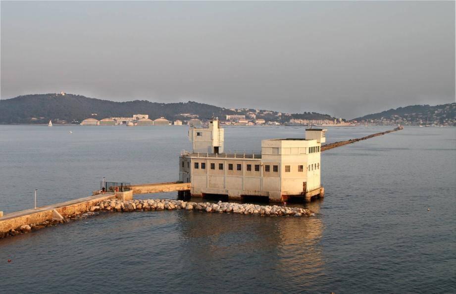 La grande jetée à Toulon
