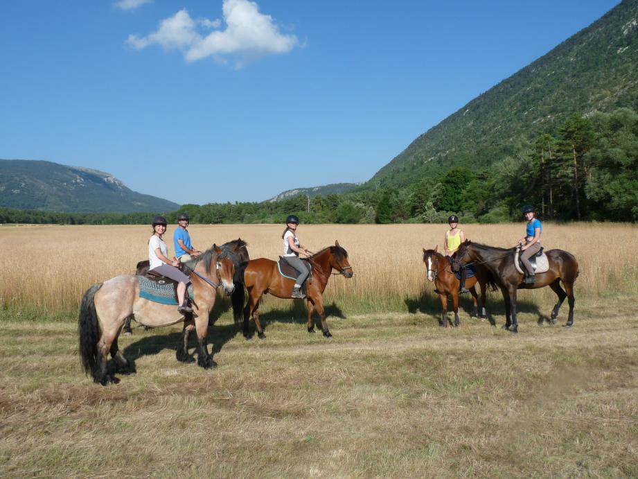 Une randonnée à cheval 100% nature avec ValRanch.