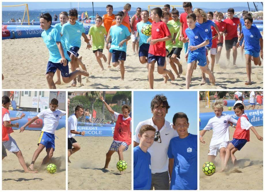 PHOTOS. Le Beach soccer tour, de Copacabana à La Londe