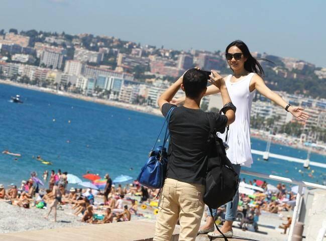 touristes chinois Nice
