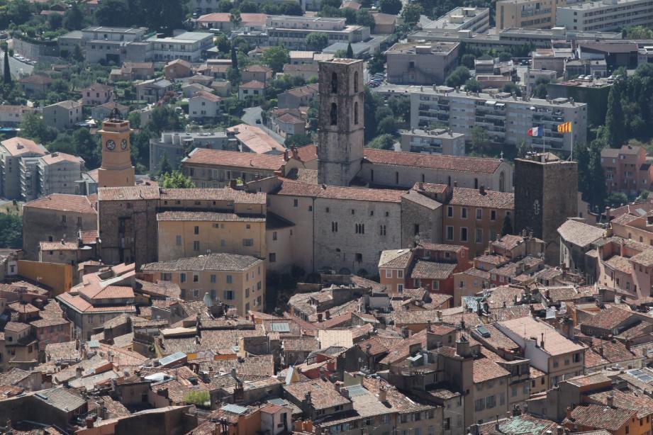 La vieille ville de Grasse