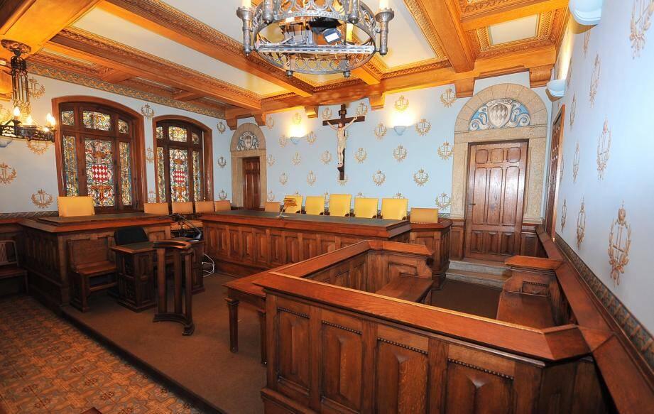 Palais de Justice de Monaco-Intérieur