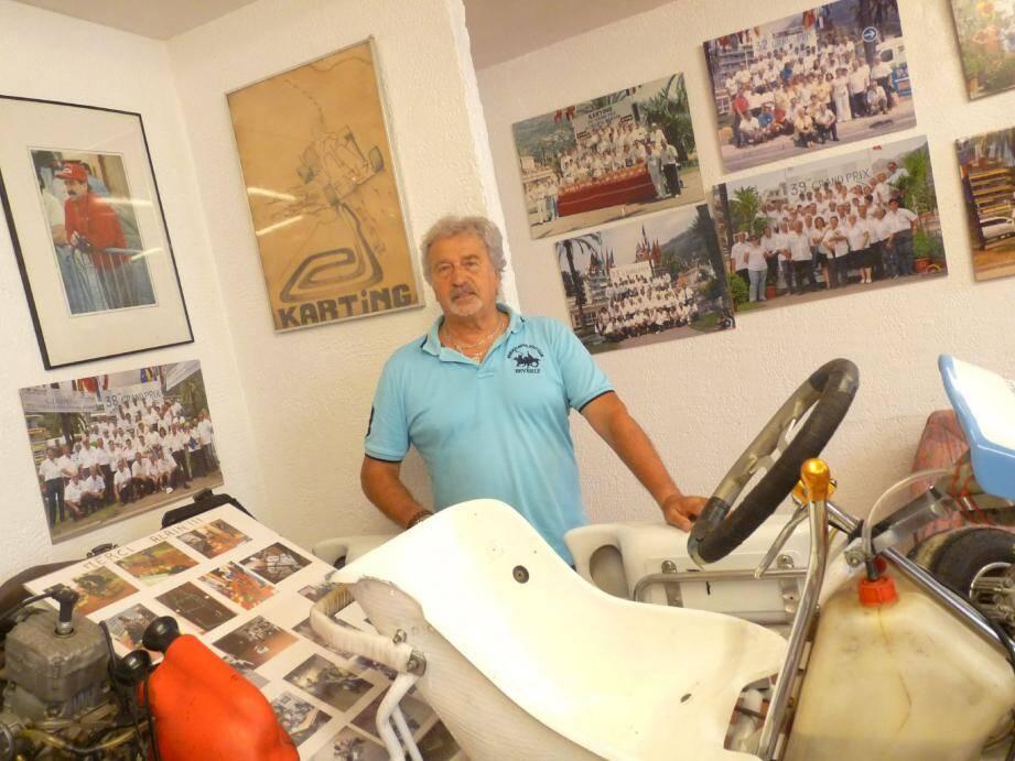 René Martiny, président de l'AS Karting Menton, invite tous les Mentonnais à participer au 43e Grand Prix de Menton… sur le circuit de Brignoles !