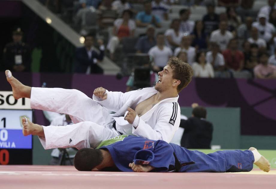 Juin 2015 : Loïc Pietri lors de la finale des championnats d'Europe par équipe.