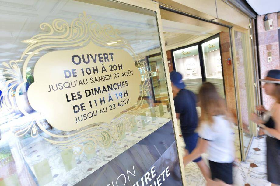 Pour la dixième année consécutive, les commerces, comme ici le Métropole Shopping Center, ont l'autorisation d'ouvrir sept dimanches au cours de l'été.