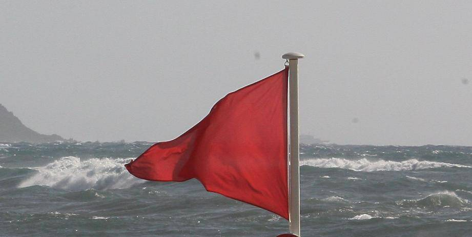 Drapeau rouge, illustration