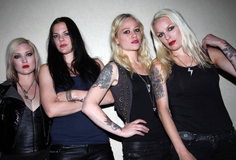 Les rockeuses suédoises de Crucified Barbara seront à la Tribal Fest de Peymeinade samedi soir
