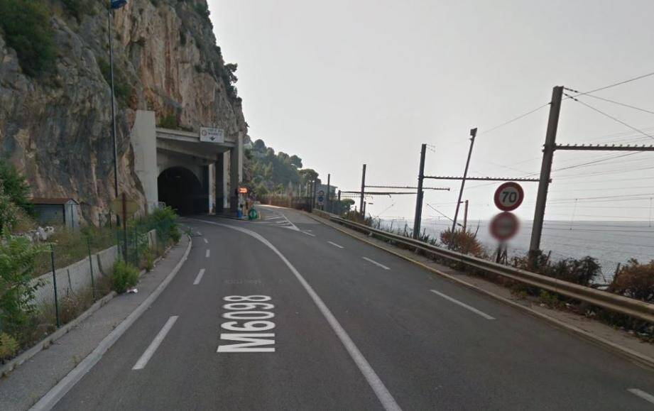 tunnel du Cap Estel