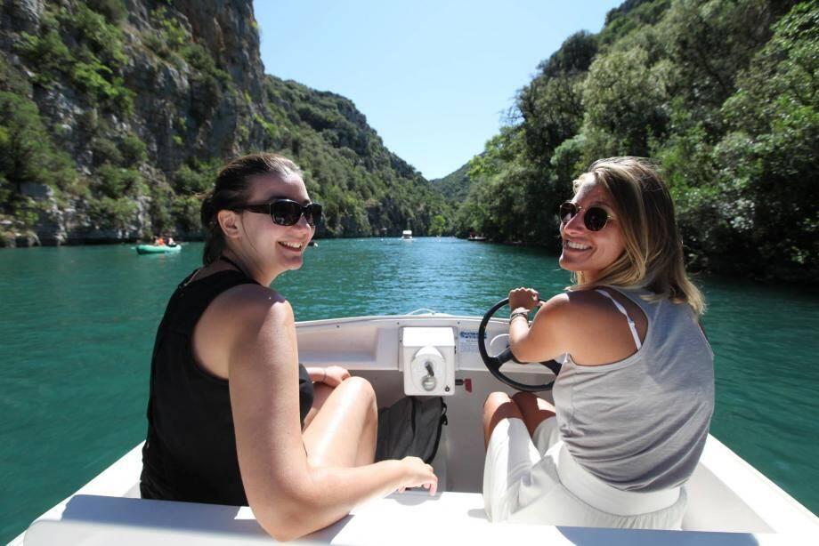 On a testé pour vous le bateau électrique dans les basses gorges du Verdon