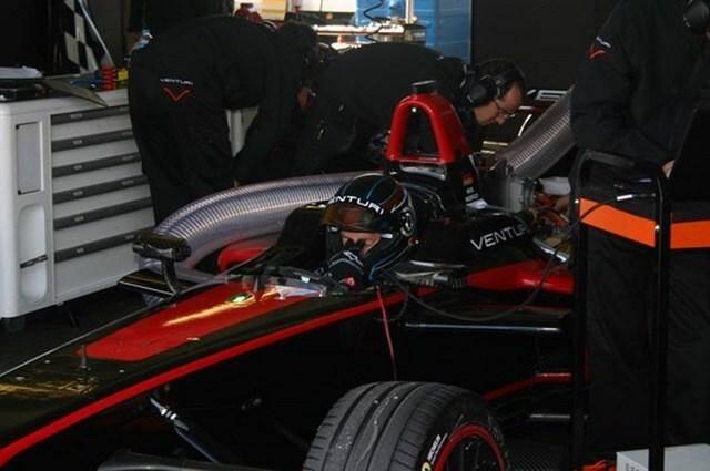 Jacques Villeneuve a essayé la Formule E Venturi