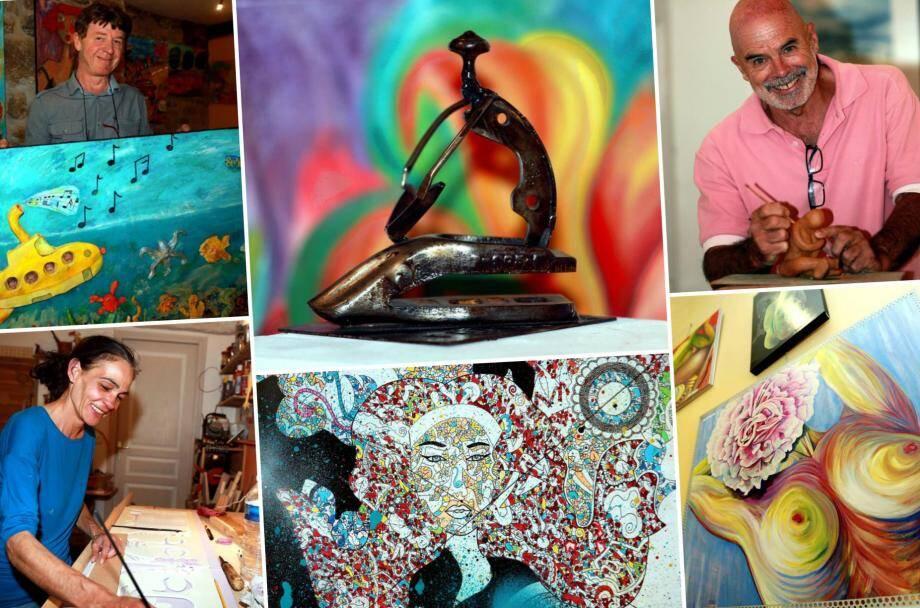 Des artistes aux univers créatifs et aux thèmes de prédilection éclectiques.
