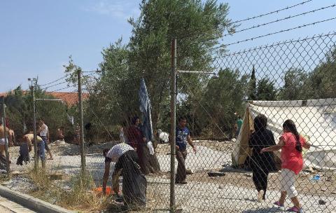 Migrants grèce