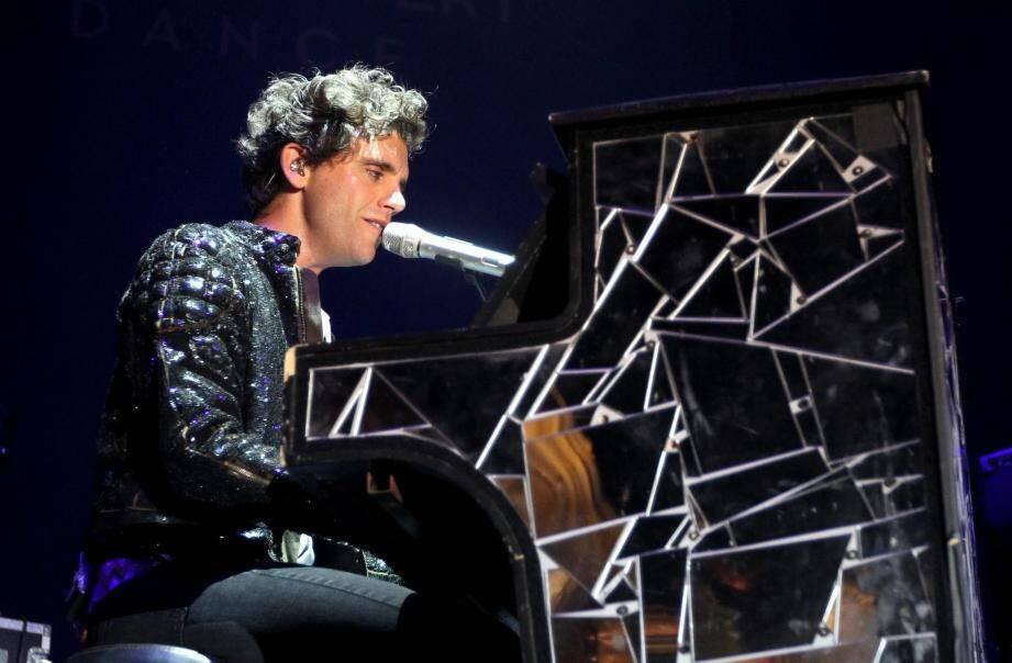 Concert de Mika à Monaco