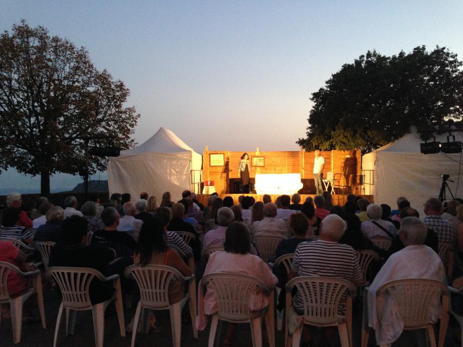 La Compagnie Série Illimitée a ouvert le Festival mardi soir.