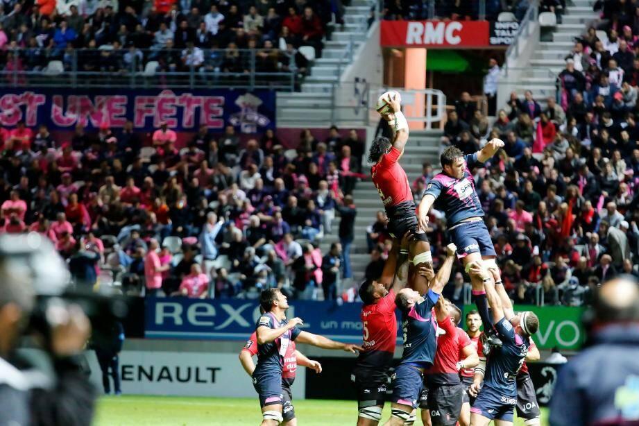 RC Toulon face au Stade Français