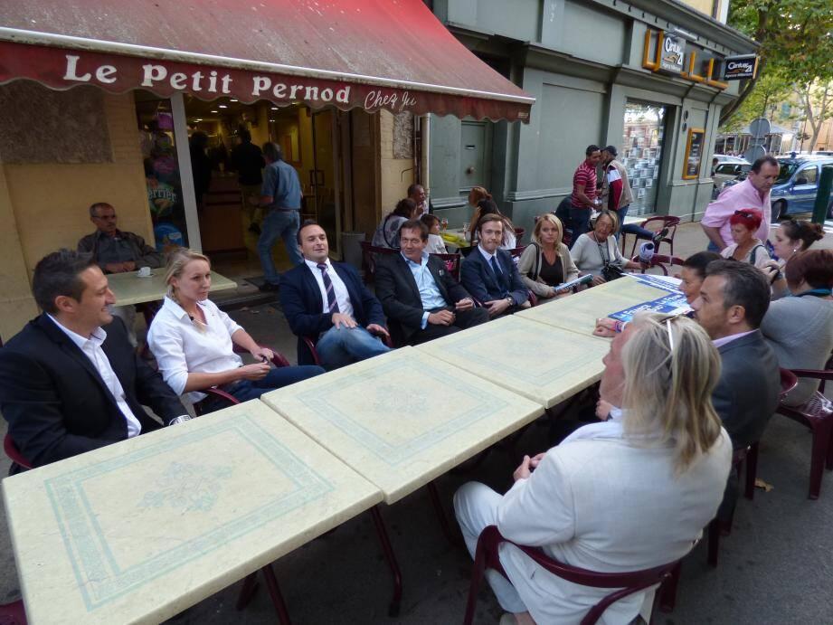 Marion-Maréchal Le Pen à Saint-Maximin. (Photo P.Z.)