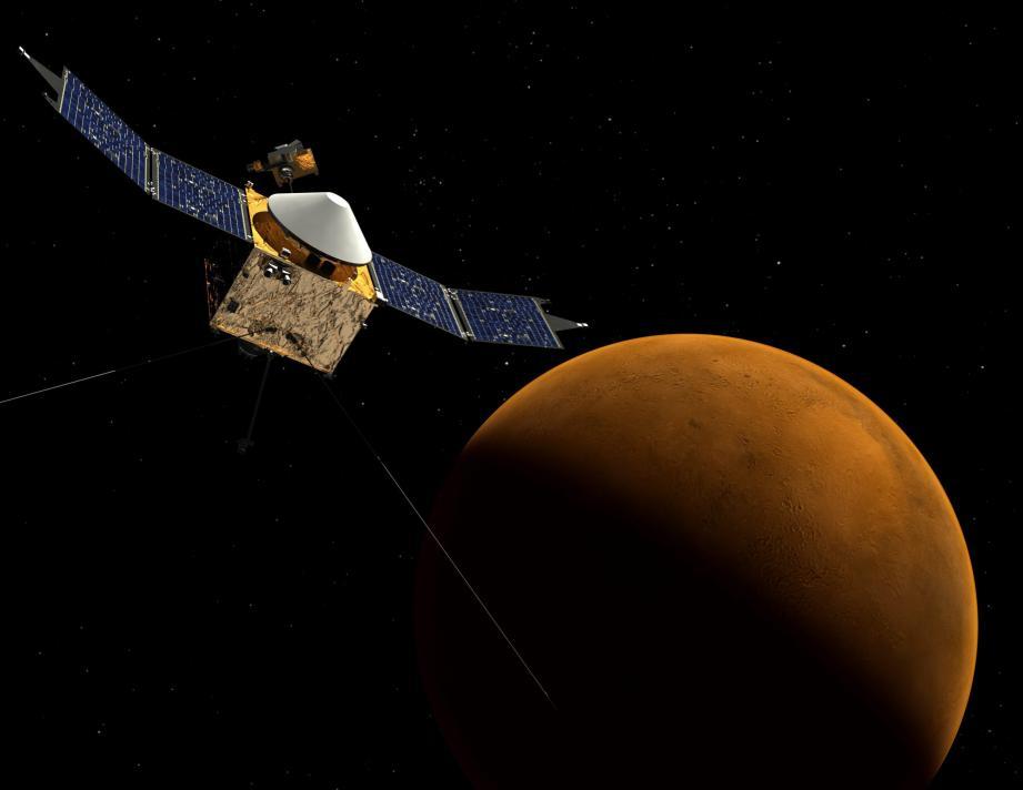 De l'eau sur Mars selon la NASA