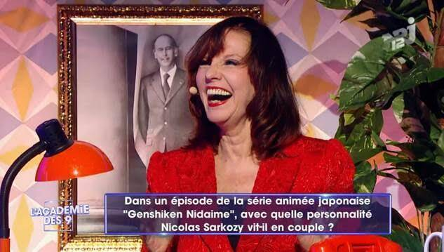 """Capture d'écran de l'émission """"L'académie des 9""""."""