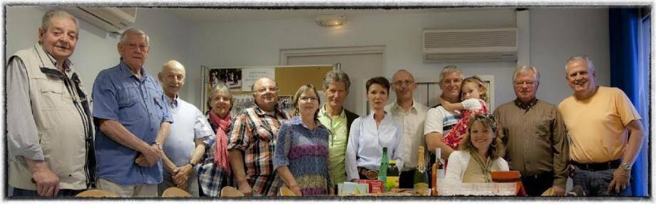 Les membres du club de photo Maures Estérel.