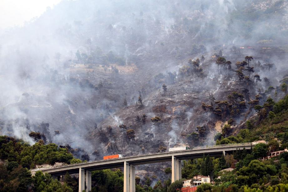 Menton : un incendie ravage 60 hectares de f - 30391929.jpg