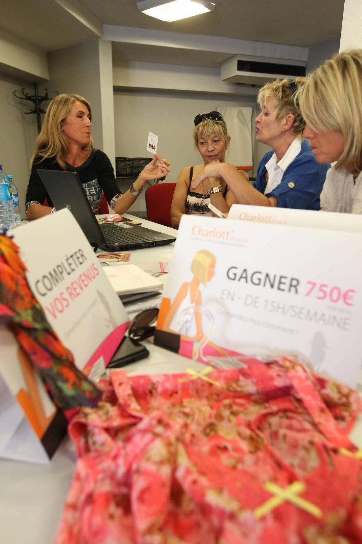 La vente à domicile, un métier en pleine expansion. Ce week-end, les vendeurs d'une vingtaine de marques sont réunis à Garéoult.