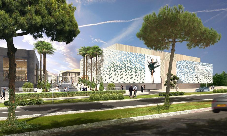 Locomotive du centre commercial, Printemps s'étale sur 9 000 m² et domine Polygone. (DR)