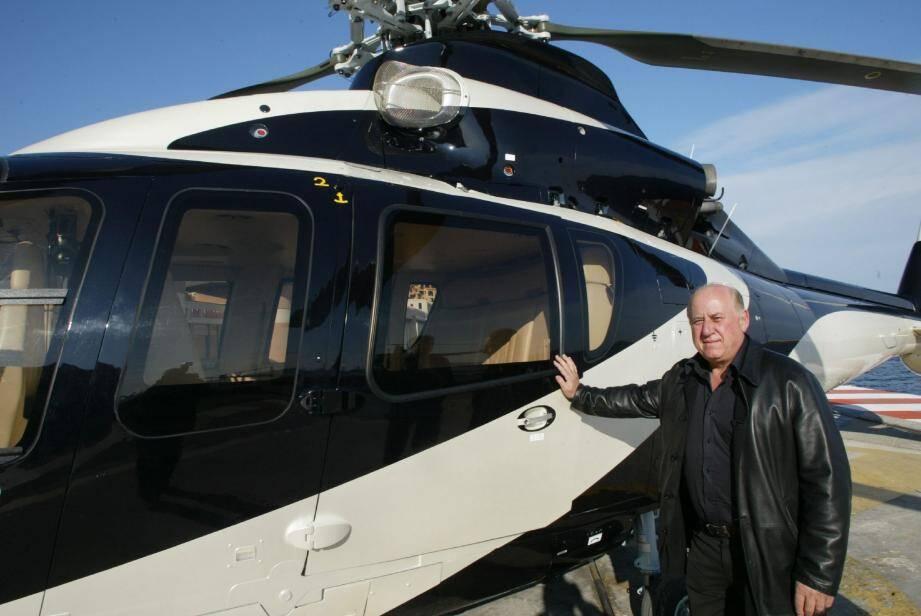 Jacques Crovetto a fondé avec son frère, en 1976, la société HéliAir Monaco et monté la ligne régulière qu'il détenait depuis 40 ans.