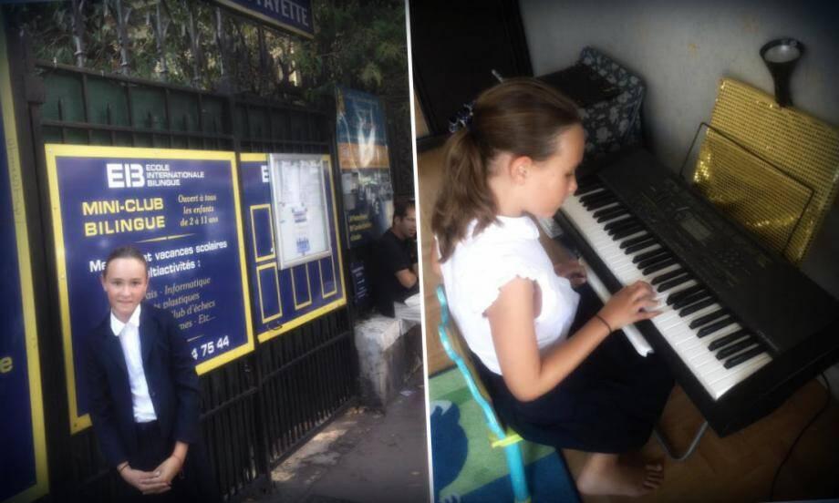 Une enfant de 10 ans parle quatre langues et pratique plusieurs disciplines artistiques avec brio