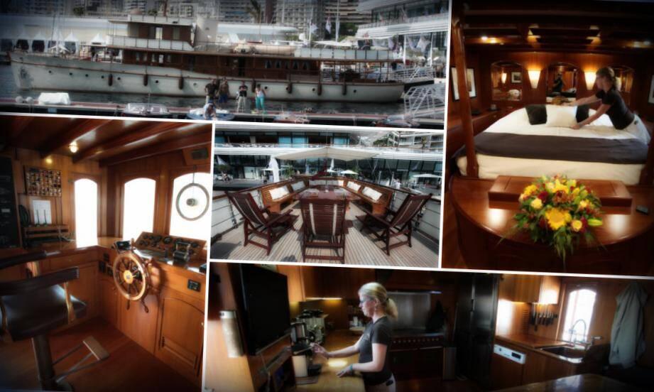 Après le décès de l'artiste en 2005 et le rachat de son yacht par une compagnie de charter, Over the Rainbow est mis aux enchères ce samedi.
