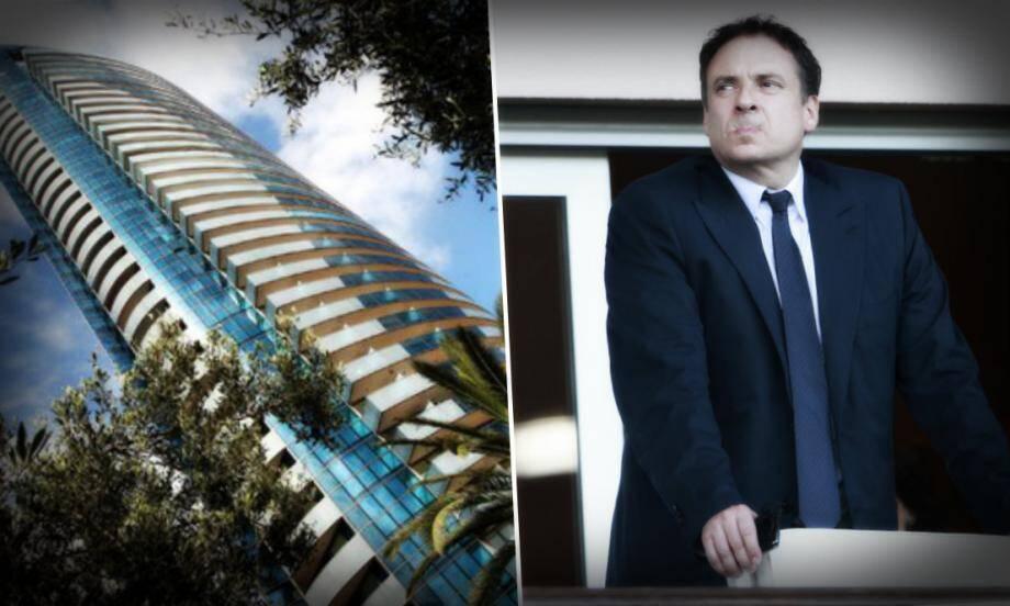 Me Thierry Lacoste, l'un des trois avocats des entrepreneurs monégasques poursuivis dans le cadre de l'affaire de la tour Odéon.