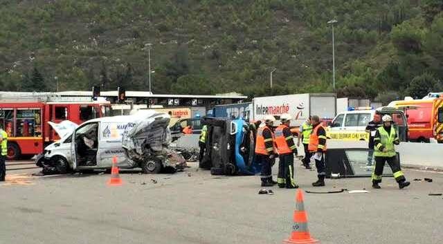 accident mortel a8 autoroutes la turbie 150917