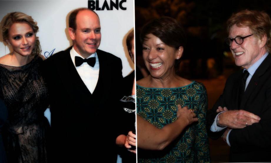 L'acteur Robert Redford et son épouse peintre, Sybille Szaggars recevront ce samedi un award à Monaco