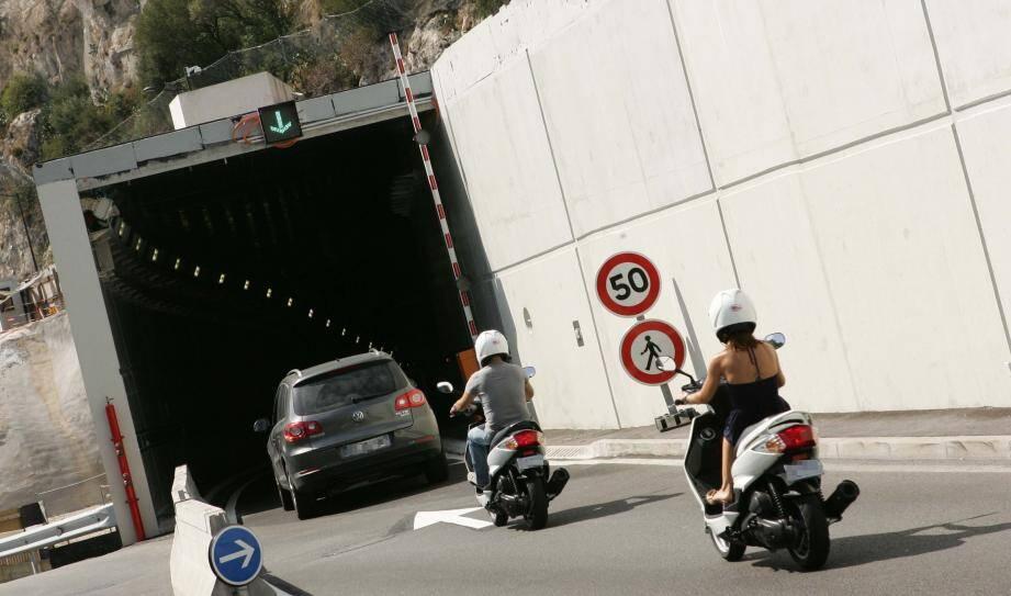 Tunnel de Monaco - A8