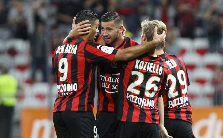 Les Aiglons victorieux face à Bordeaux.