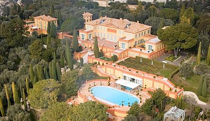 L'excentrique villa Leopolda, un temps convoitée par le milliardaire Prokhorov