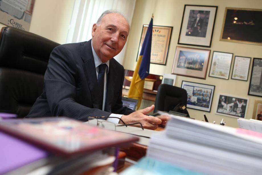 Georges Ginesta, député-maire de Saint-Raphaël.