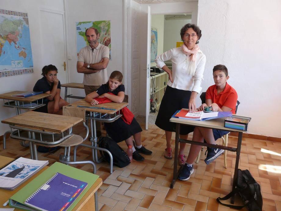 Un collège avec 3 élèves à Carnoules dans le Var