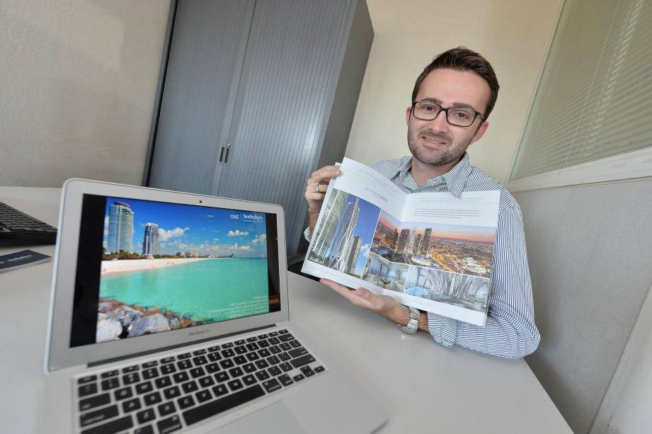 AGENCE MENTONPortrait de Florian Jouin - Mentonnais qui a réussi à Miami