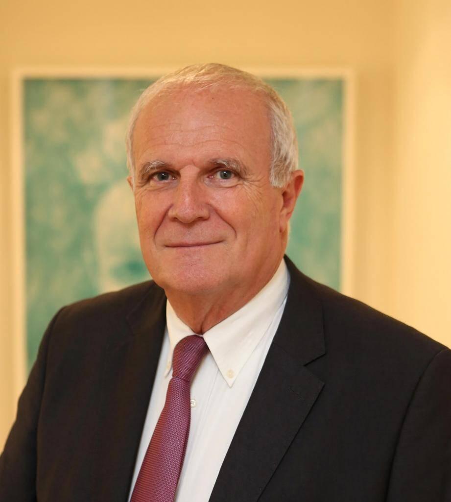 Patrick Rinaldi, président de l'UP.