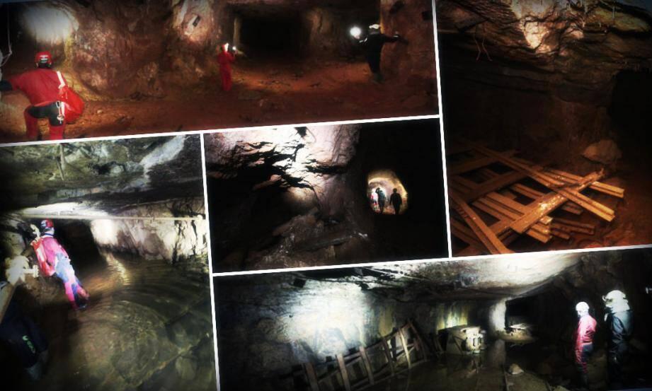 Fermées depuis vingt-cinq ans, les galeries conservent précieusement le matériel de l'exploitation de la bauxite. Et les souvenirs des hommes.