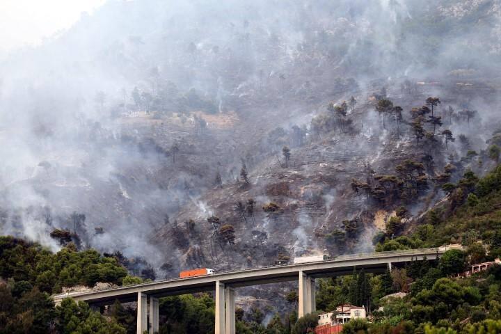 Incendie Menton 9septembre