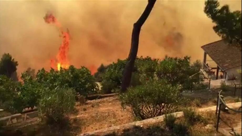 Le feu de Castellar.