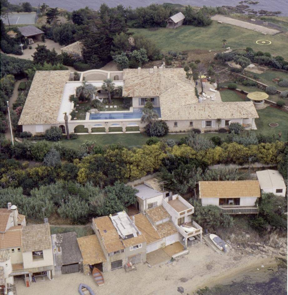 L'ancienne villa Barclay à Ramatuelle