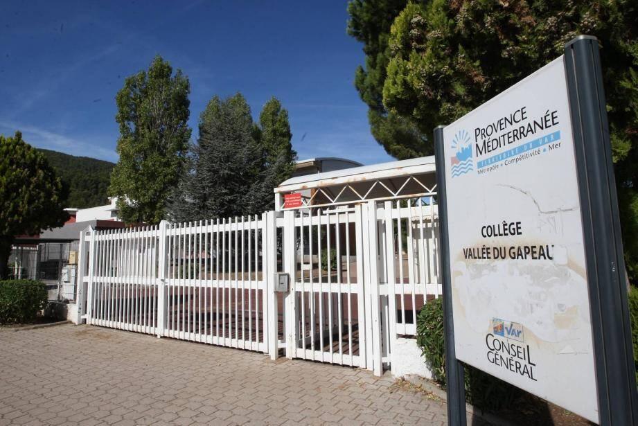 Sortie du collège Solliès-Pont