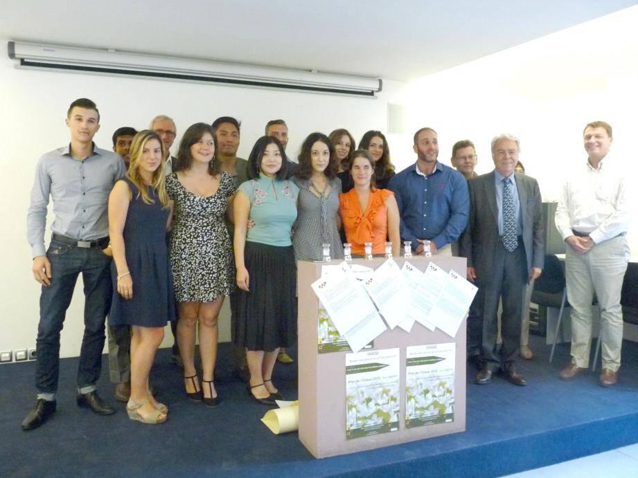 Les élèves de Grasse Institute of Perfumery se sont affronté pour remporter le prix créé par l'ARMIP.