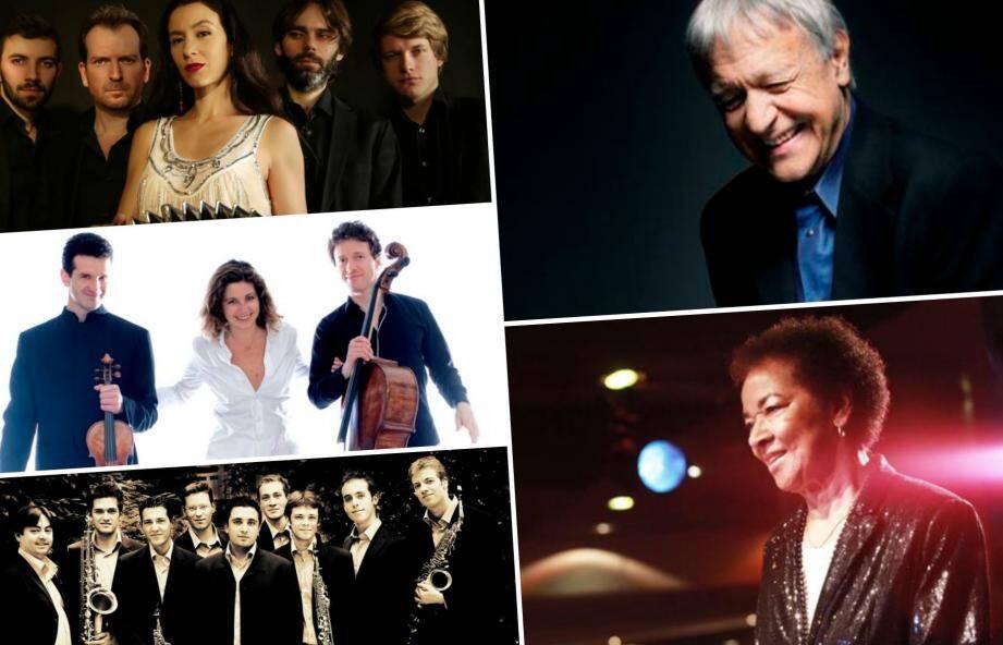 Cette année encore, des artistes de grands viendront se produire sur la scène de l'Auditorium de la Dracénie.