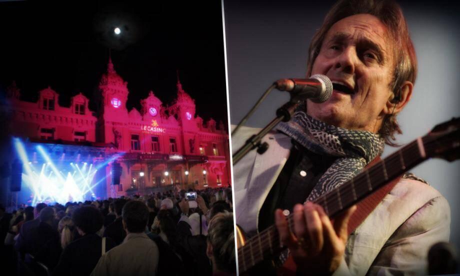 Le chanteur britannique a joué avec son public tout au long de la soirée.