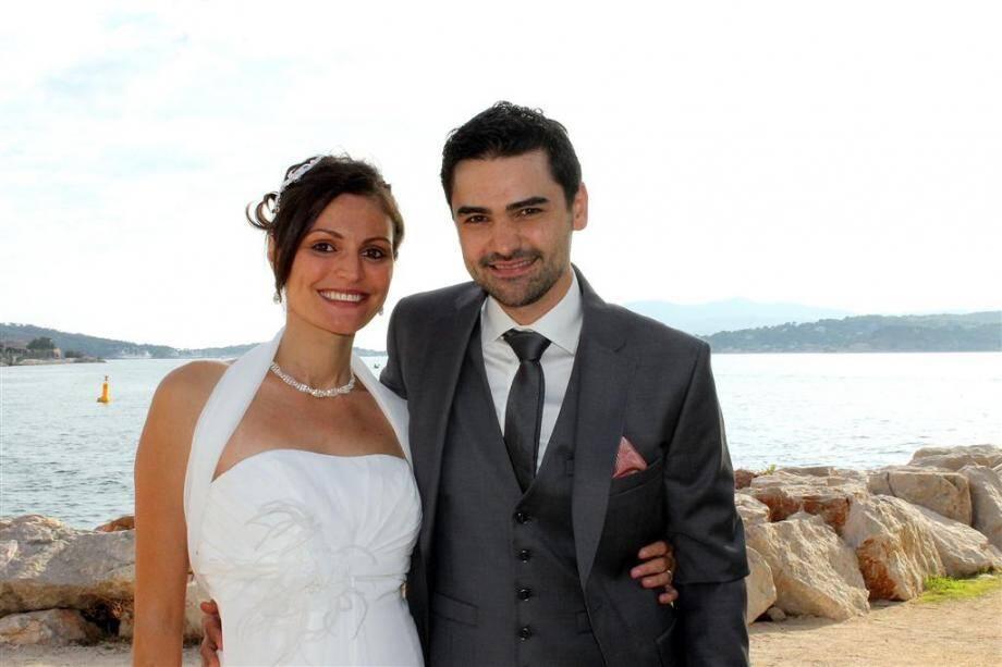 Jérémie Josi et Corinne Rizzo à Toulon