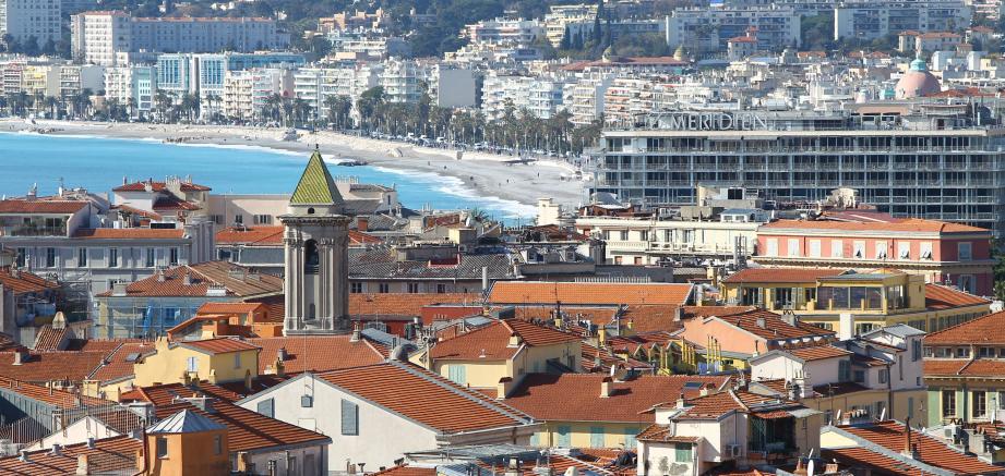 Une vue de Nice.